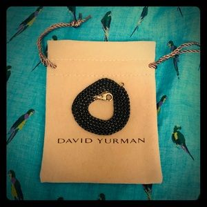 "David Yurman 22"" Box Chain Neckless 2.7mm"